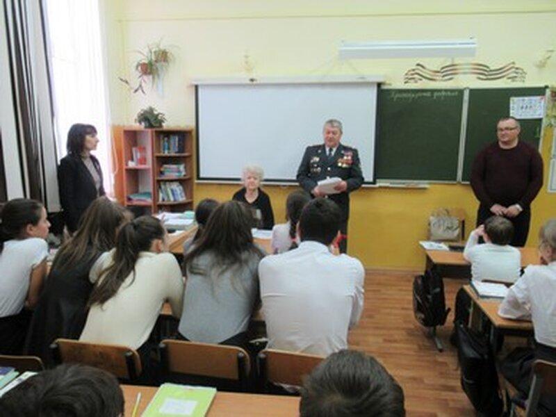 Встреча с членами районного Совета Ветеранов 2020